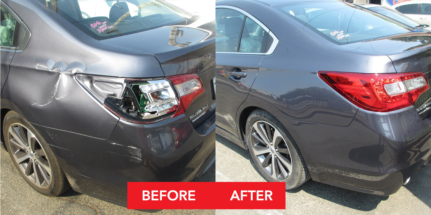Nor Cal Auto Body Automotive Repair - Stapleton Before&After - Citrus Heights, CA